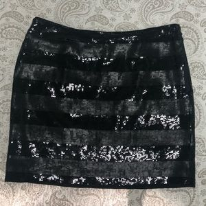 & Other Stories Skirts - Black paillette skirt & Other Stories